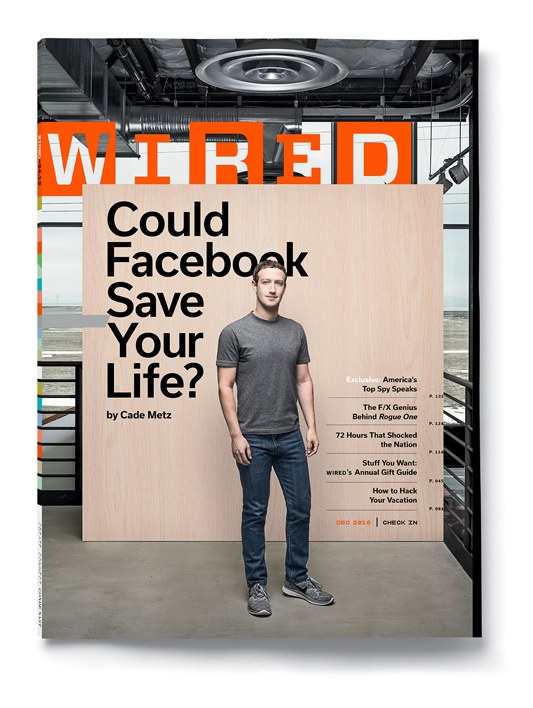 Wired Headline: Could Facebook Save Your Life?